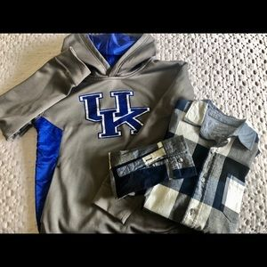 Other - University of Kentucky Hoodie pullover -2 pc